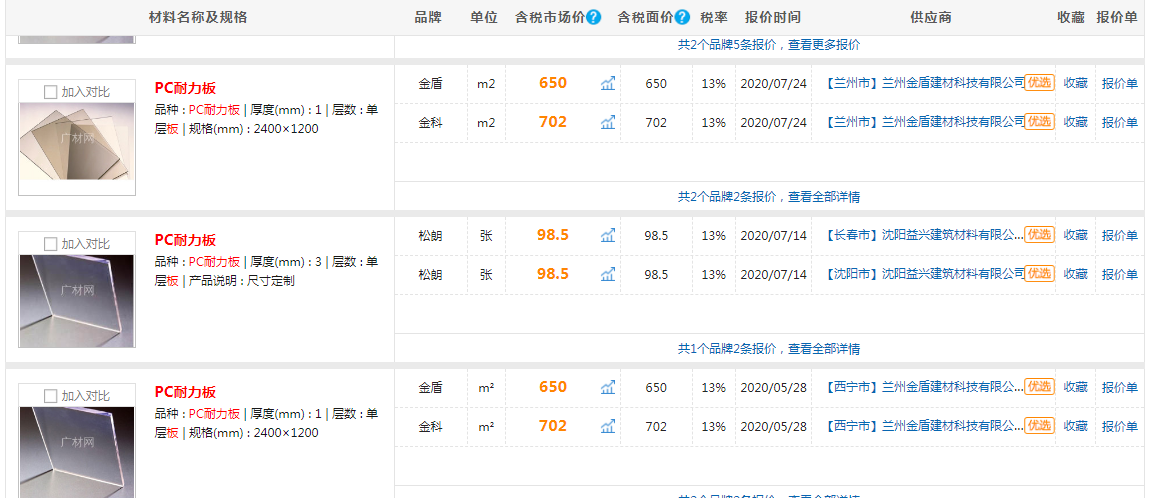 PC耐力板的价格.png
